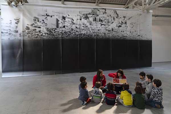bambini al museo Fondazione Pirelli Hangar Bicocca bambini