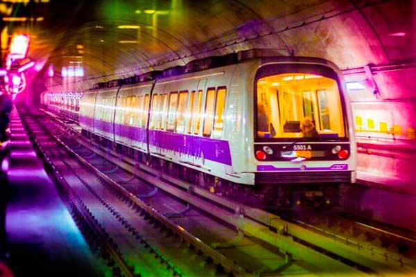 metro linea lilla