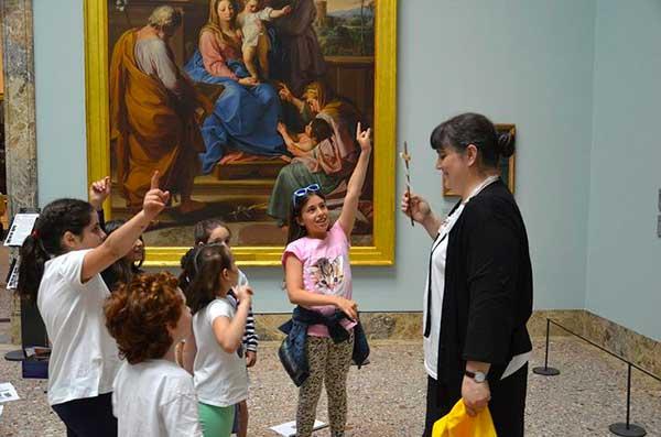 bambini museo pinacoteca di Brera