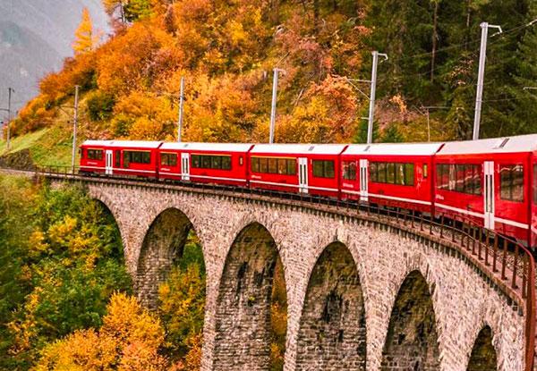 Weekend sul Trenino Rosso del Bernina con i bambini