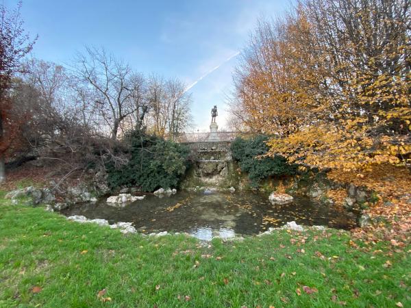 Fontana di parco Montanelli