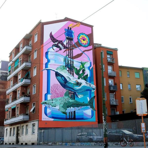 Street art a Milano, Anthropoceano