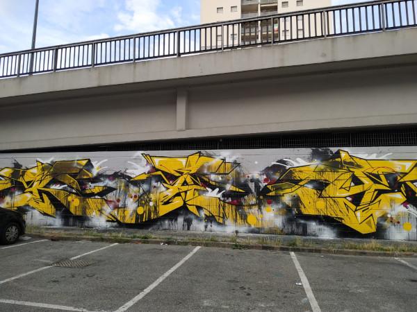 Tour street art Milano, Giambellino