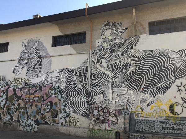 Tour street art a Milano, Leoncavallo
