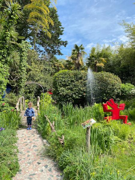Ingresso giardino botanico Andrè Heller